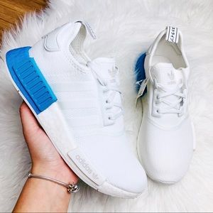 Adidas NMD R1 Cloud White Real Blue